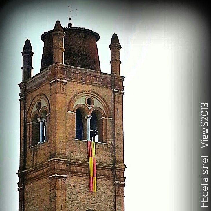 Tower bells of Basilica of St George, Ferrara, Italy