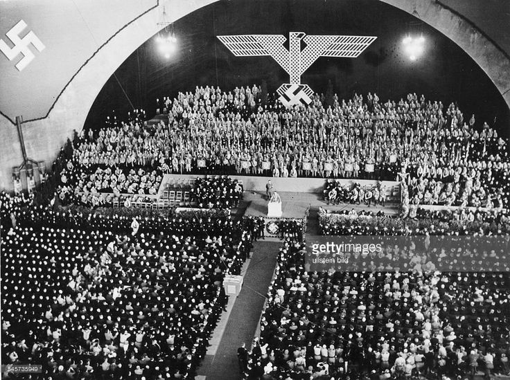 """The NSDAP hosts a 1932 election campaign in the German city of Breslau, in the province of Silesia. Once described as the """"Stronghold of Left Wing Liberalism"""" during the days of the German Empire, Breslau proved to eventually host the third largest support base for the National Socialist Party with a staggering 44% of the province's population in support of Adolf Hitler by the year 1932."""