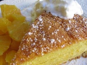 Orange-Scented Olive Oil Cake - Simple Nourished Living