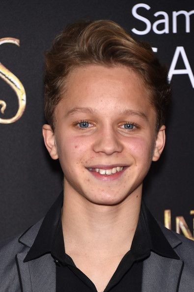 Daniel Huttlestone in 'Into the Woods' Premieres in NYC