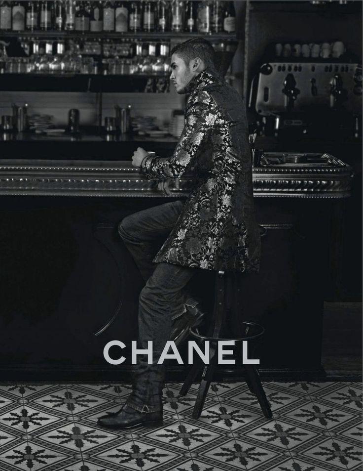 Baptiste Giabiconi for Chanel Paris-Bombay 2012 - Photographer: Karl Lagerfeld