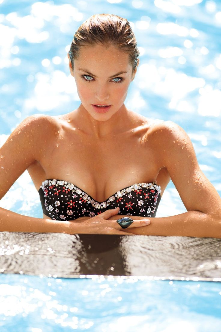 Victoria's Secret studded bikini. Do they really go swimming in those!!!!!: