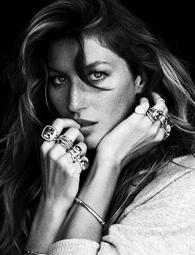 Gisele Bundchen for David Yurman Fall 2012 Jewelry Campaign