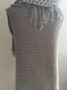 Een vest haken in de weefsteek, een makkelijk patroon met prachtig resultaat!