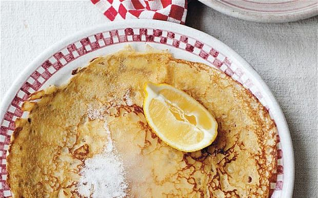 Mary Berry's classic pancake recipe uses only three ingredients so it couldn't   be simpler