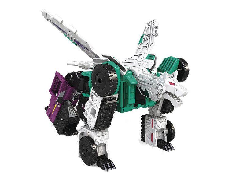 Transformers Titans Return Sixshot on Amazon for $35