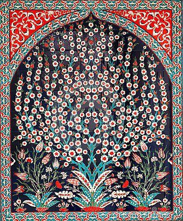 Stock Image: Turkish tiles. Image: 12774771