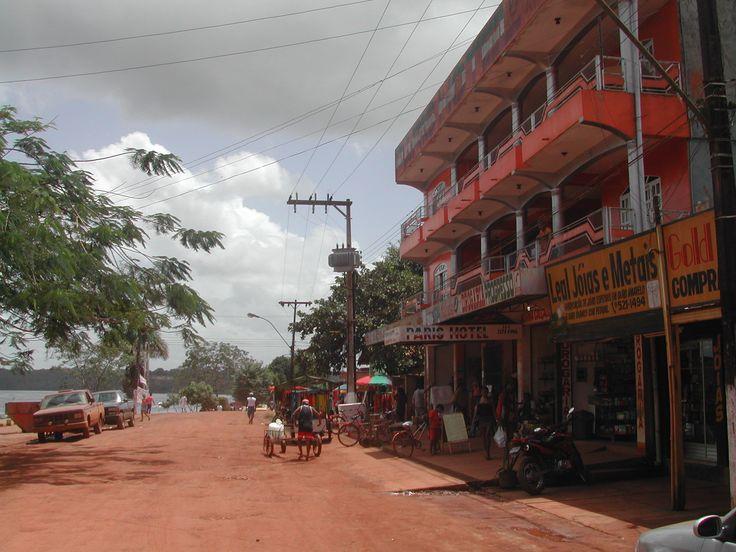 Oyapoké au Brésil