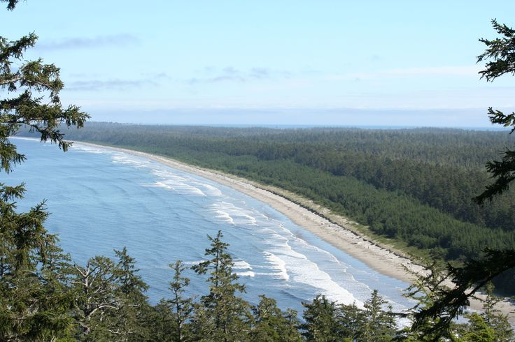 North Beach (Rose Spit off in the distance) on Haida Gwaii. photo credit: kayla bailey