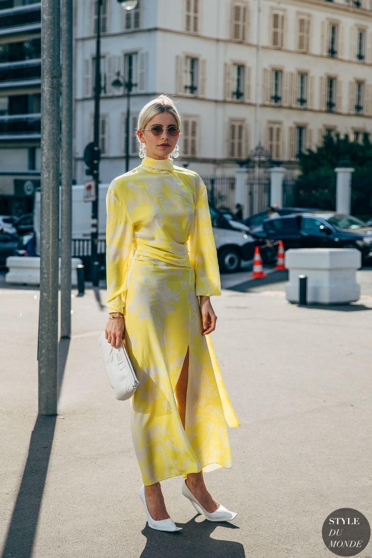 Haute Couture Fall 2019 Street Style: Caroline Daur