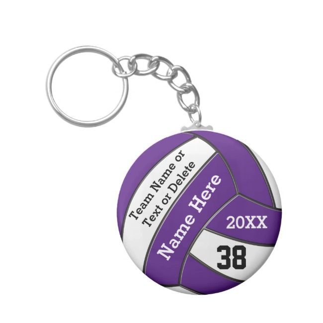 Cheap Volleyball Keychains Your Text And Colors Zazzle Com Volleyball Gifts Volleyball Volleyball Senior Night Gifts