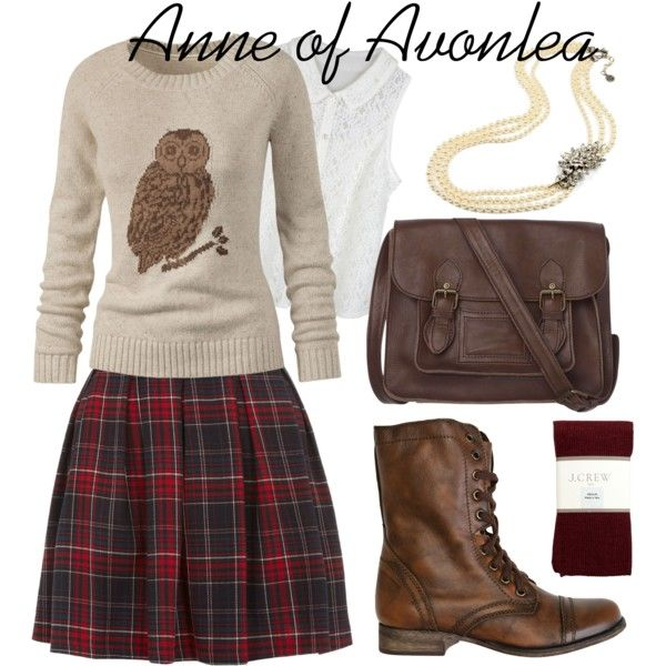 Anne of Avonlea Inspired by bramblewoodfashion, via Polyvore
