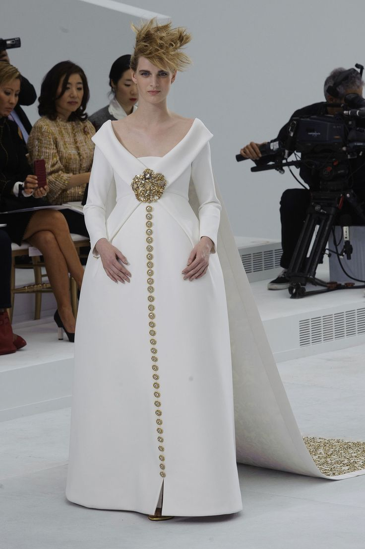 Wedding dress inspiration by Chanel Haute Couture Fall 2014