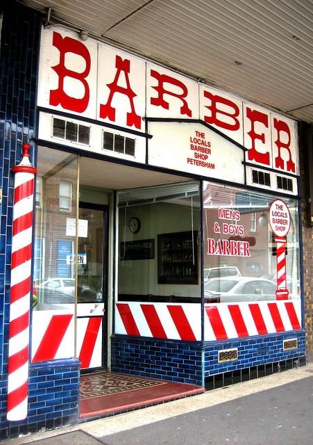 The Locals Barber Shop, Petersham... Photo: Gabriel Zeng