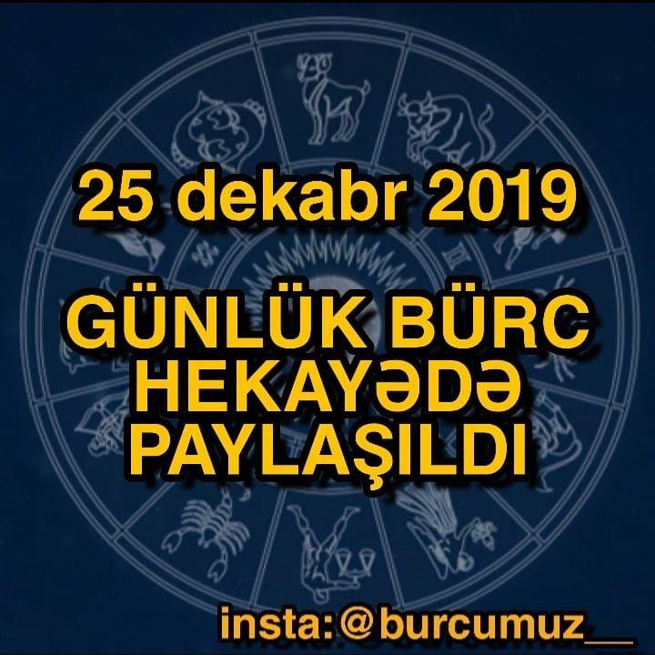 Gundelik Burcler 2019 Images Səkillər