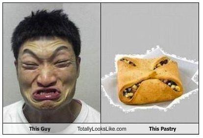 どっちがどっちかわからないほど似てる笑 ザブングル加藤と菓子パン