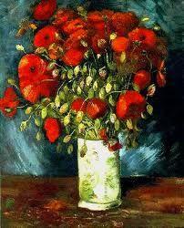 Van Gogh, Βάζο με κόκκινα λουλούδια