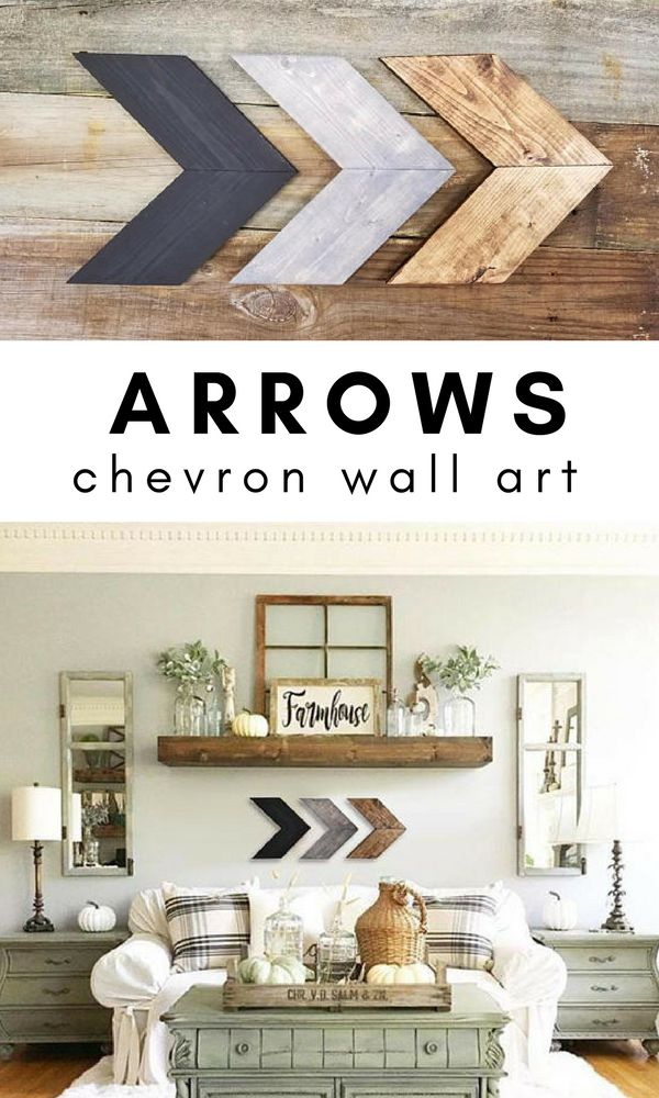Wood Chevron Arrows, Wood Chevron Wall Decor, Chevron Arrows, Chevron  Arrows Wall Decor, Chevron Wall Art