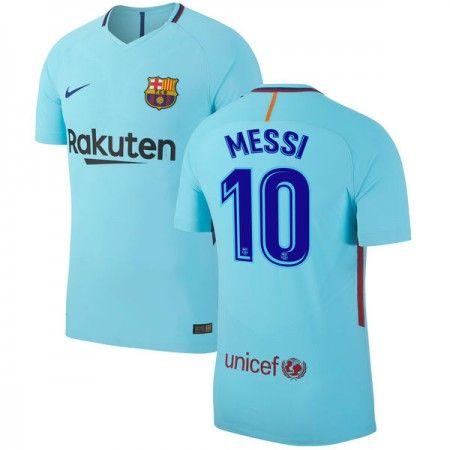 Barcelona Lionel Messi 10 Udebanetrøje 17-18 Kort ærmer