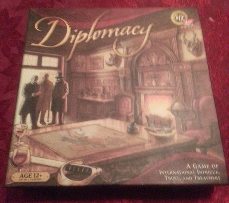 DIPLOMACY BOARD GAME Replacement parts set #AvalonHill