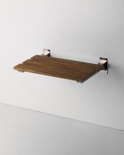Teak Shower Bench contemporary shower caddies