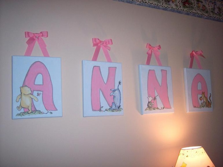 17 best images about nursery mural ideas on pinterest for Classic pooh wall mural
