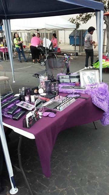 Younique Vendor Fair Table Setup Vendor Events And Fairs
