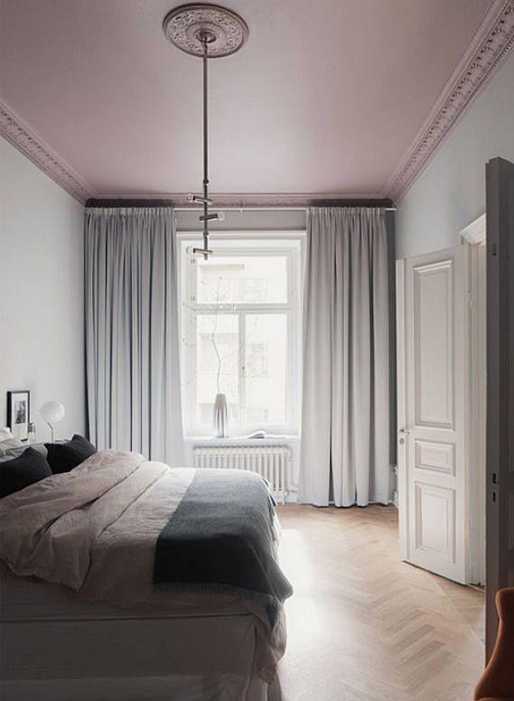 roze plafond