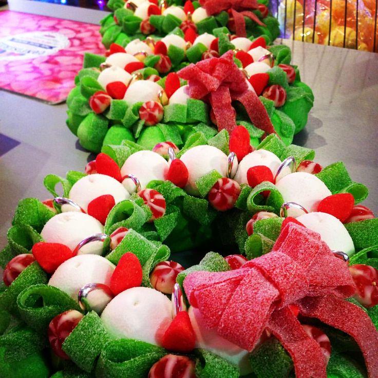 gateau de bonbon Noël 2015
