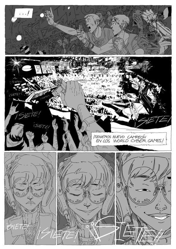 """#ART #ULISESLAFUENTE #CIENCIAFICCION #CROWDFUNDING - """"..Por el padre ingeniero, la madre fábrica y el sagrado electrón"""" Art 88/46 no es un comic fácil de resumir. Filosofía, ciencia ficción y una aventura alucinante. Escrito y dibujado por Ulises Lafuente. +INFO http://www.uliseslafuente.com crowdfunding verkami http://www.verkami.com/projects/9155-art-88-46-tomo-2"""