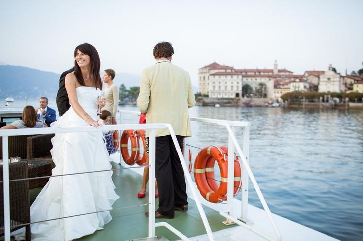 Wedding on boat - Lake Maggiore Italy