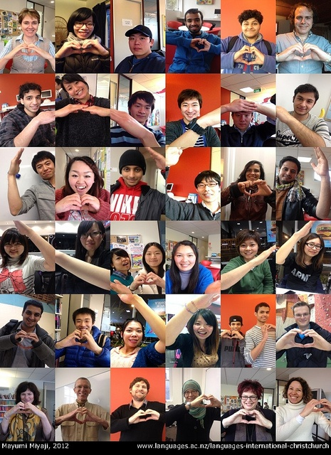 We love Christchurch THIS much...  This montage illustrates beautifully the community spirit we have at LI Christchurch.  Do you love Christchurch? Tell us why here: http://languagesint.blogspot.co.nz/2012/08/christchurch-love.html  Share the love!