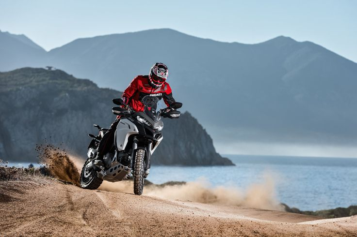 New 2016 Ducati Multistrada 1200 Enduro Action