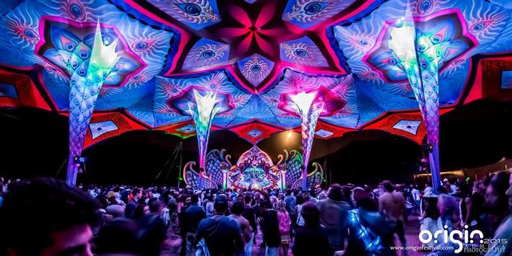 ORIGIN FESTIVAL    When: January    The first major festival of the year, presented by Good Time Events / Nano Records. Origin Festival boasts two dance floors and a wide variety of visionary arts over 3 days.