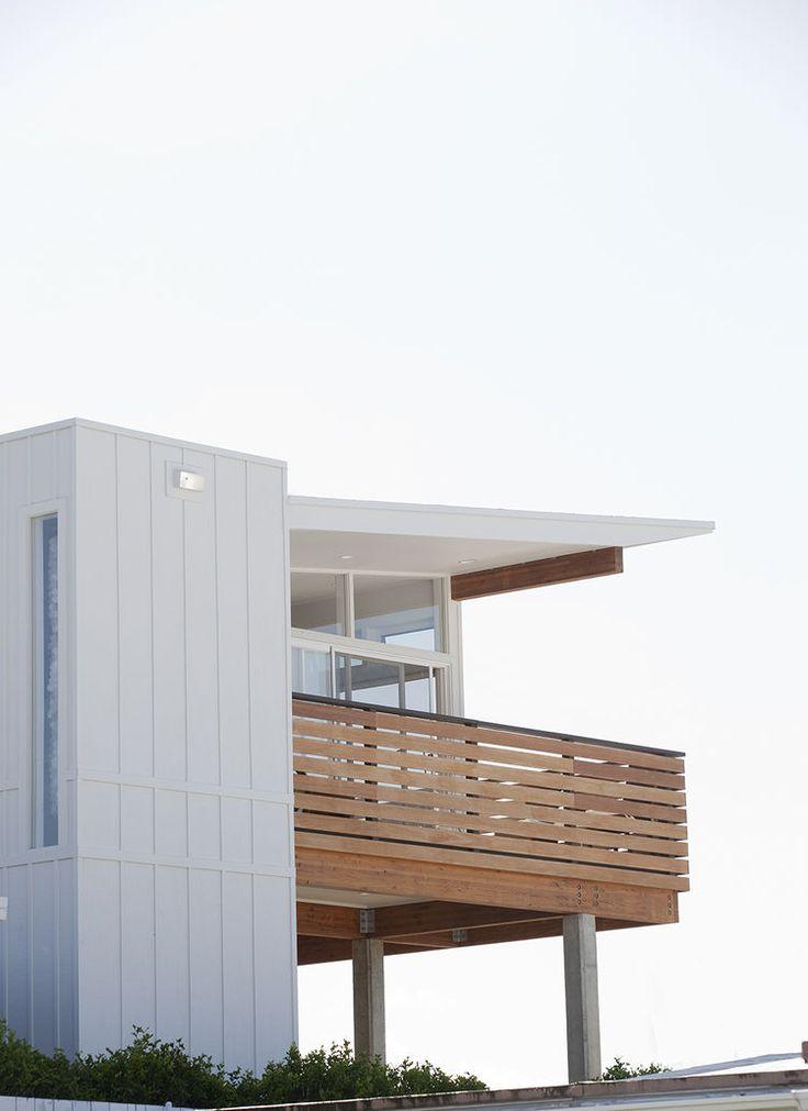 Plywood cladding on Hawaii renovation by Fritz Johnson Architect.