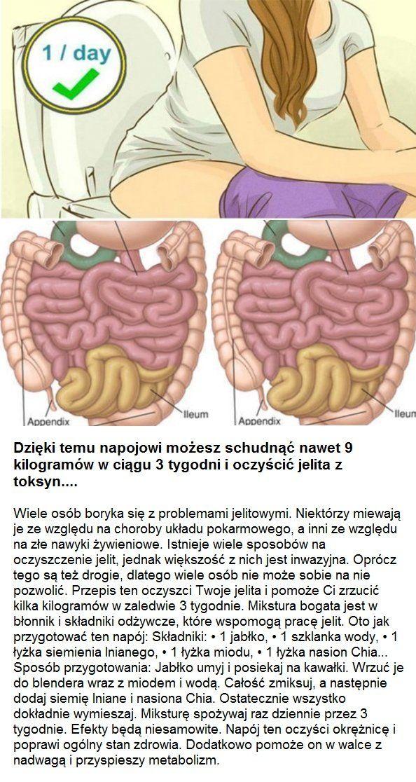 Dzięki temu napojowi możesz schudnąć nawet 9 kilogramów w ciągu 3 tygodni i oczyścić jelita z toksyn...