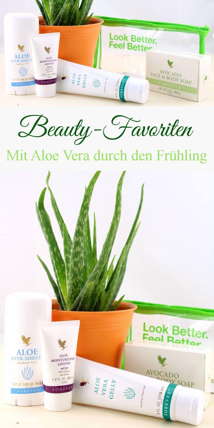 Beauty-Favoriten - Mit Aloe Vera durch den Frühling - forever living - hautpflege, beautylieblinge, aloe vera gelly, evershield, deostick, moisturizing lotion, face & body soap
