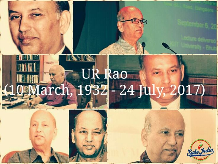 UR Rao, the Satellite Man of India dies at 85, leaving behind a void in the field of Space and Satellite technology, never to be filled again.