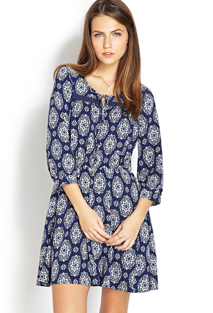 Boho Moment Fit & Flare Dress http://canada.forever21.com/Product/Product.aspx?BR=F21&Category=dress&ProductID=2000107898&VariantID=
