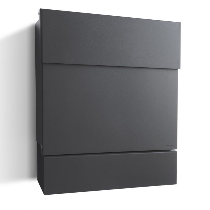 radius briefkasten letterman 5 anthrazitgrau ral 7016 mit. Black Bedroom Furniture Sets. Home Design Ideas