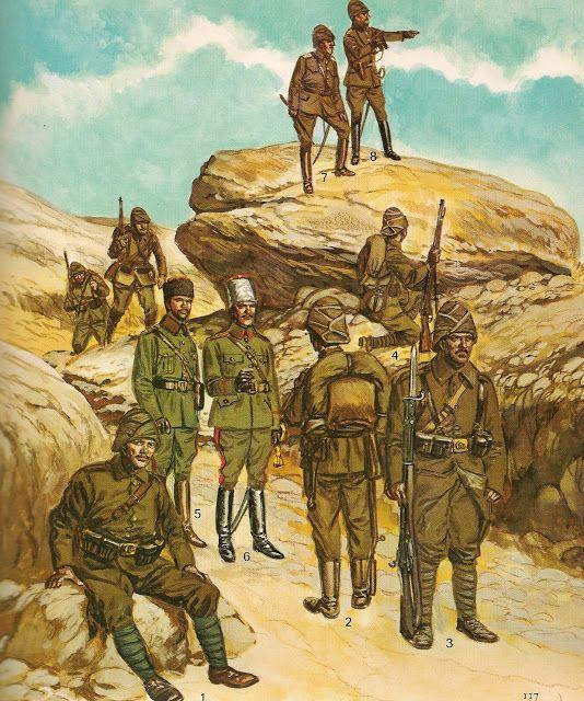 Armia turecka 1914 - 18