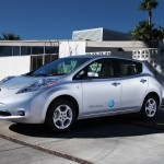 2012 NISSAN LEAF  MSRP: $36,900  According to Nissan, the future is now. Right now! And it's looking decidedly Leaf-y.