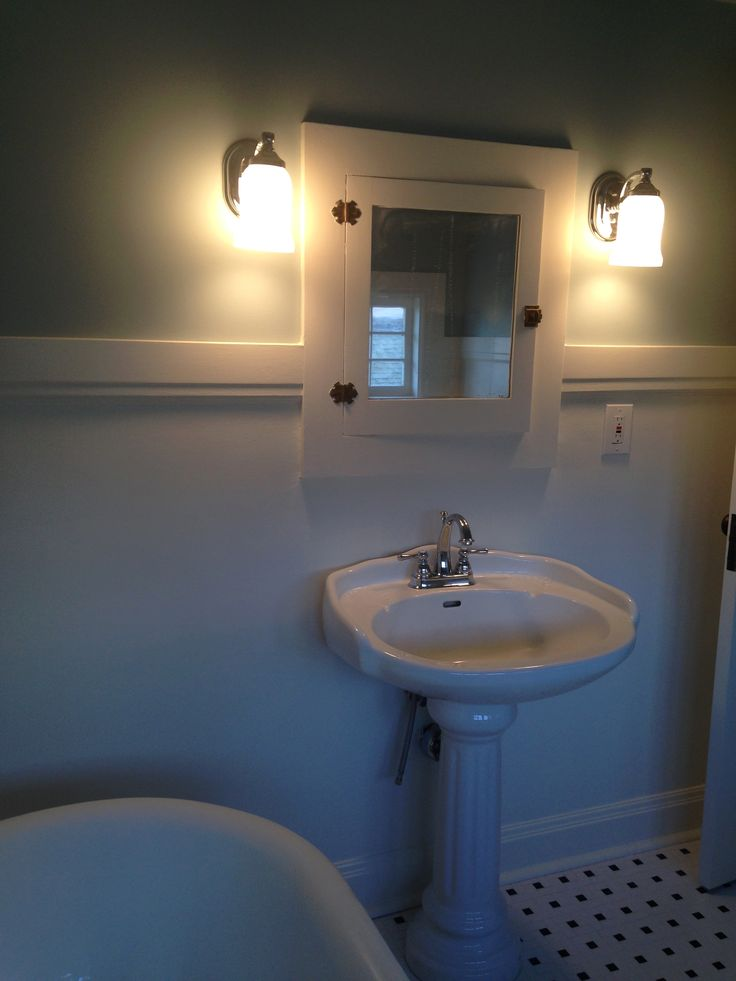 29 best images about our projects bathrooms on pinterest for Built in clawfoot tub