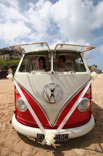 CORNWALL VW WEDDING HIRE WEDDING CAMPER VANS For Hire (1965)