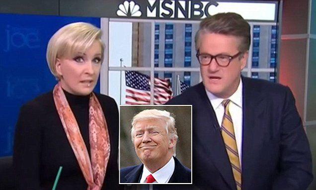 Morning Joe Mika says Trump has a fake presidency   Daily Mail Online