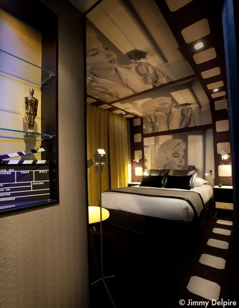 Chambre Hollywood, Platine Hôtel, Marilyn