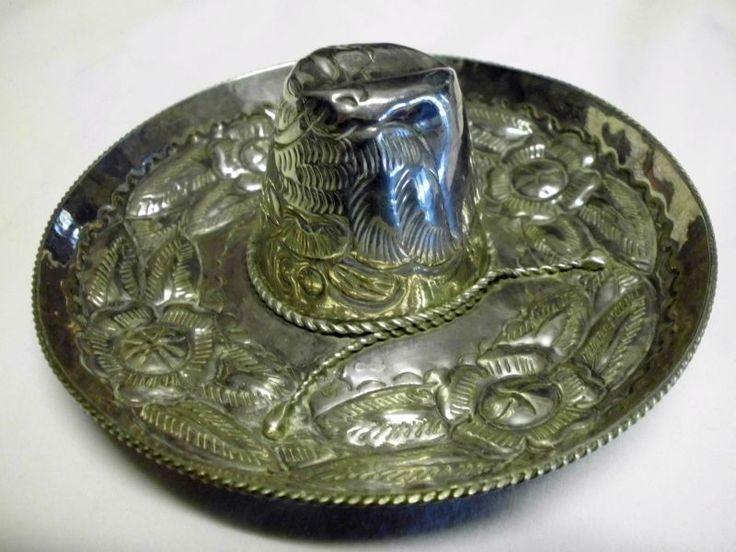 Mexikanischer Hut-Sombrero-925 Silber/Mexican hat-Sombrero-Sterling Silver