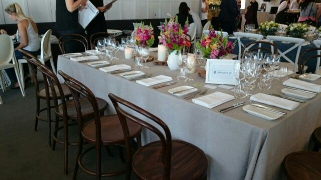 Table decorations: rustic