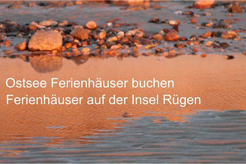 Ferienhaus #Rügen #Urlaub an der #Ostsee http://www.ferienhauskiste.de/ferienhaus-ruegen-buchen.html