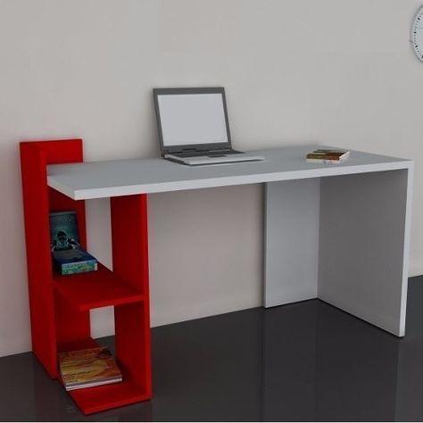 escritorio-moderno-mesa-pc-notebook-mueble-oficina-minimalis #Casasminimalistas